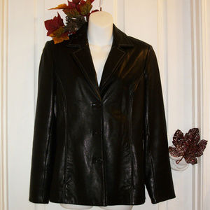 🌼HP🌼Geuine Leather Jacket.  Soft as Butta!